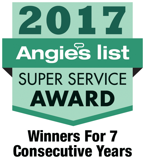 Angie's List Super Service Award 2017
